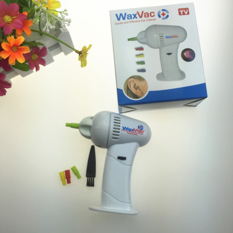 Details about Cordless Ear Wax Vac Remover Cleaner Clean Removal Safe  Hygenic Tips Suction