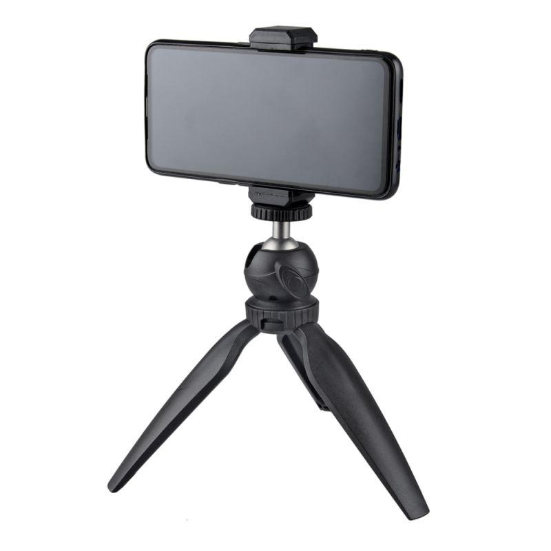 Adjustable-Detachable-Mini-Tripod-Phone-Table-Mount-Clip-Stand-Phone-For-Live thumbnail 8