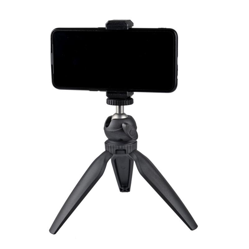 Adjustable-Detachable-Mini-Tripod-Phone-Table-Mount-Clip-Stand-Phone-For-Live thumbnail 9